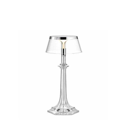 Flos Bon Jour Versailles Small  tafellamp. Chroom