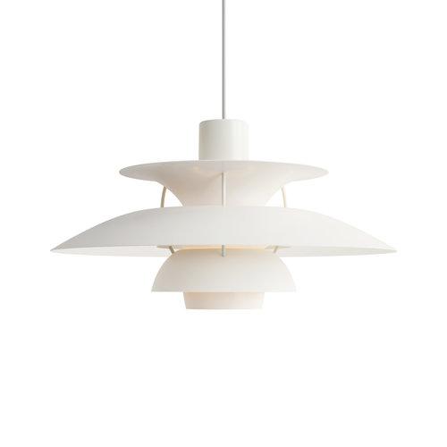 Louis Poulsen PH 5 hanglamp. Monochrome White