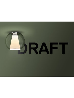 Serien Draft plafondlamp. S