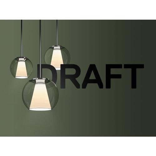 Serien Draft hanglamp. Tube S