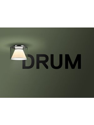 Serien Drum plafondlamp. M