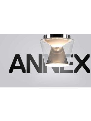 Serien Annex plafondlamp. Helder/Gepolijst