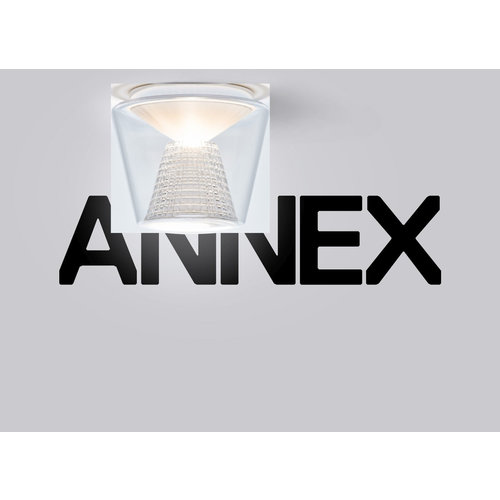 Serien Annex plafondlamp. Helder/Kristal