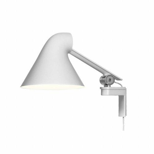 Louis Poulsen NJP wandlamp korte arm (Wit)