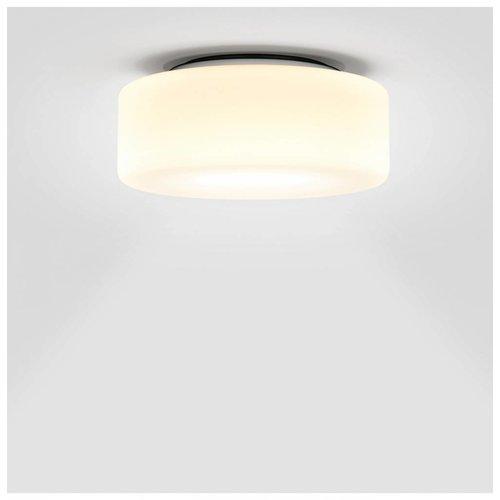 Serien Curling plafondlamp opaal