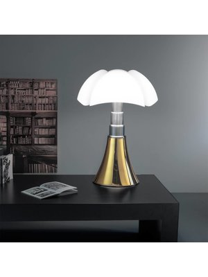 Martinelli Luce Pipistrello Gold Plated 24 K LED Tafellamp