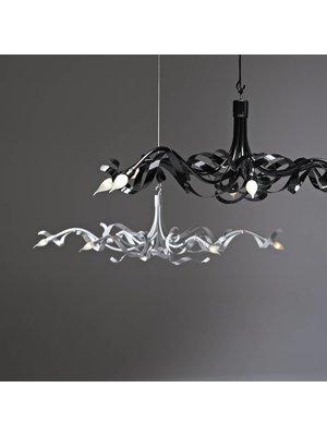 Jacco Maris Ruban Plié Ovaal 6 hanglamp
