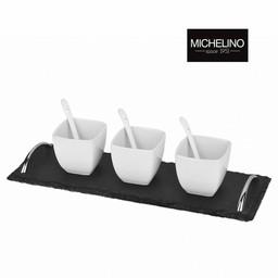 MICHELINO Tapas Set Vierkant, 7-delig