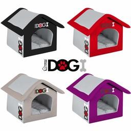 DOGI Hondenhuisje HOME, 4 Kleuren