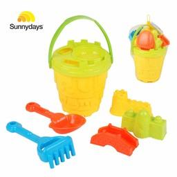 Sunnydays Strandemmer met speeltjes, 7-delig