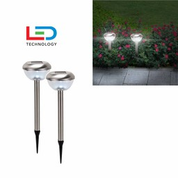 H.I. LED Lampen Rond, 2-DELIGE SET