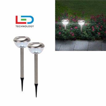 H.I. LED Lampen Rond, 2-DELIGE SET