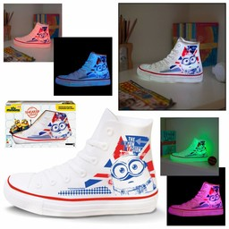Minions Despicable Me Minions Sneaker LED - Nachtlamp