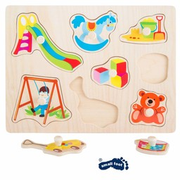 "Small Foot Puzzel ""Toys"""