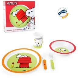 Small Foot Kinderservies Snoopy Peanuts, 5-delige set