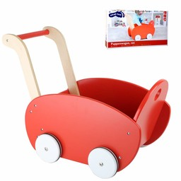 Small Foot Poppenwagen RED