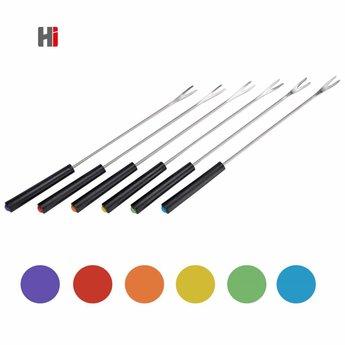 H.I. Fonduevorken, 6-delige set