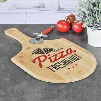 H.I. Bamboe Snijplank Pizza Design
