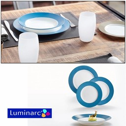 Luminarc Everarty Blue, 18-delig servies