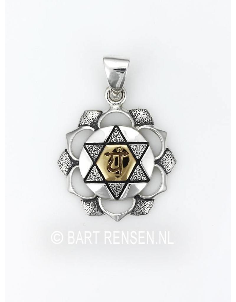 Hart Chakra hanger - echt zilver