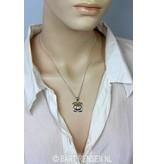 Basic Chakra Pendant - sterling silver