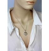 Zonnevlecht Chakra hanger - echt zilver