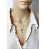 Engelvleugels hanger - echt zilver