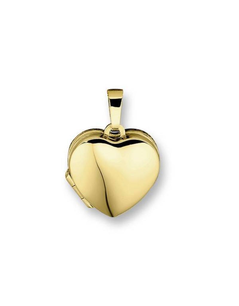 Heart medallion - 14 carat gold