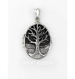 Medaillon-Lifetree - silver