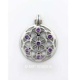 Seed of Life pendant - silver
