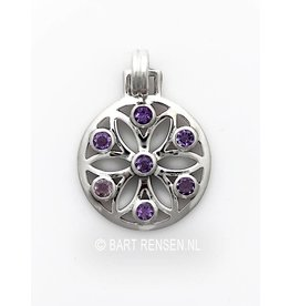 Silver Seed of Life pendant