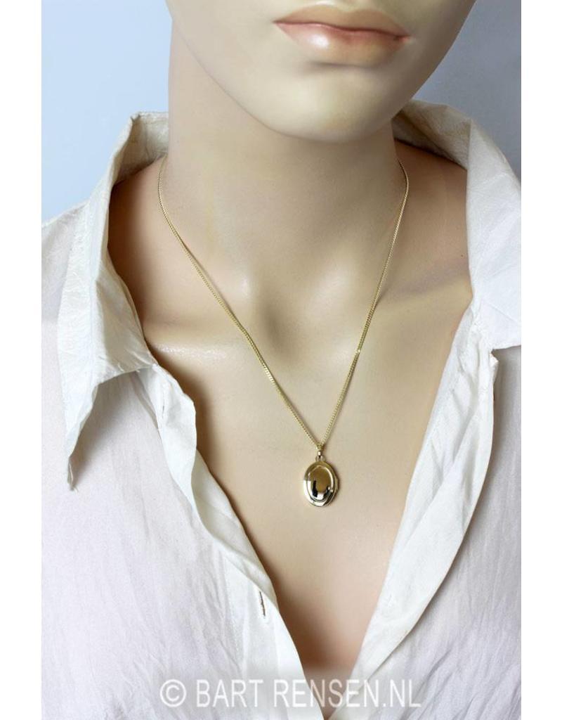 Locket pendant - 14 carat gold