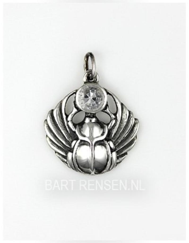 Scarabee hanger - echt zilver