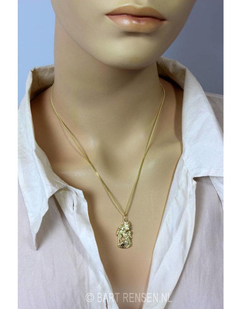 Christopher pendant - 14 carat gold