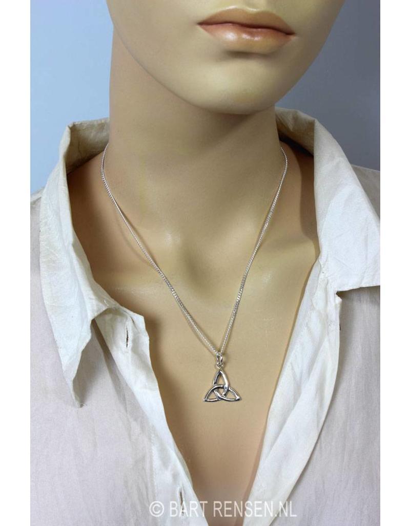 Triquetra pendant - sterling silver