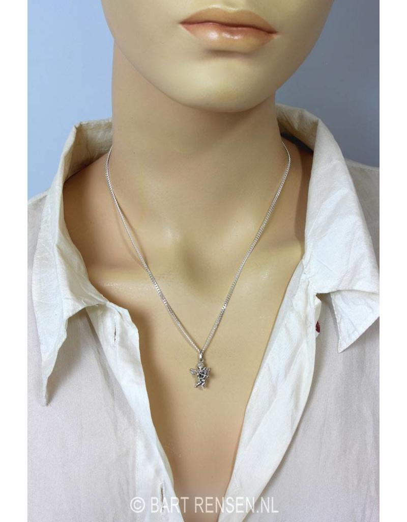 Cupid pendant -  sterling silver