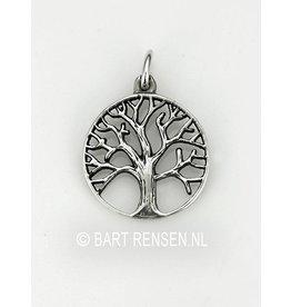Levensboom hanger - zilver