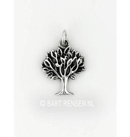 Tree pendant - silver