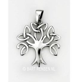 Levensboom hanger Triskel - zilver