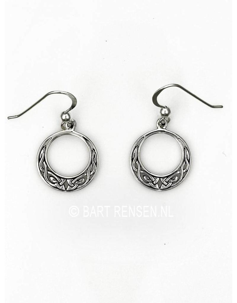 Keltische Oorhangers - echt zilver