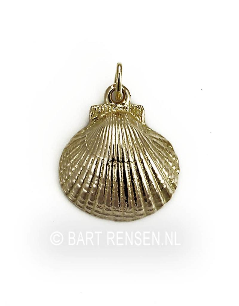 St. Jacobs shell pendant - 14 carat gold