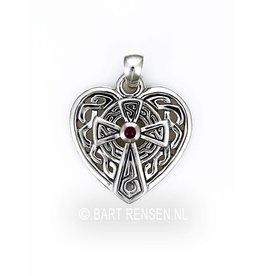 Keltisch Kruis Hart hanger