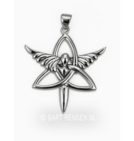 Triquetra Angel pendant