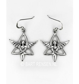 Triquetra Angel earrings