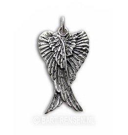 Engelen hanger - zilver