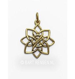Golden Lotus pendant