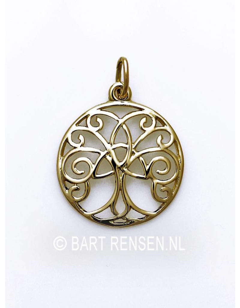 Celtic Tree of Life pendant - 14 crt gold