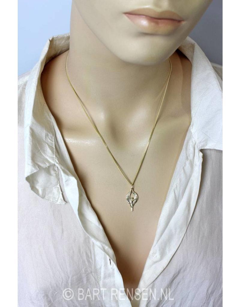 Engel hanger - 14 krt goud