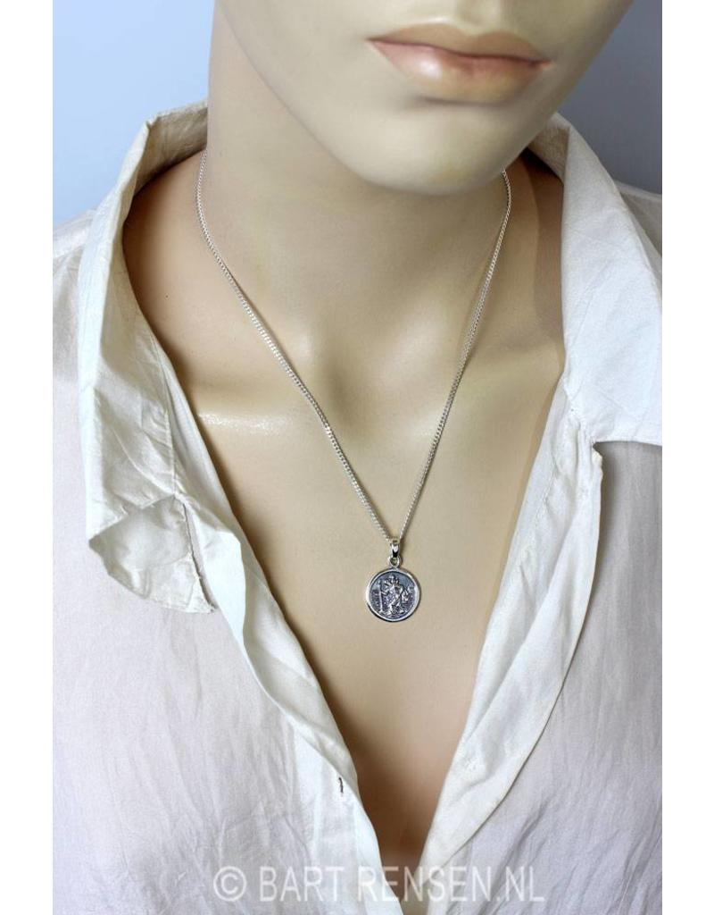 Christopher pendant - sterling silver