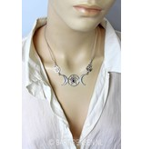 Wicca necklace - sterling silver